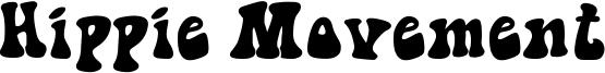 Hippie Movement Font