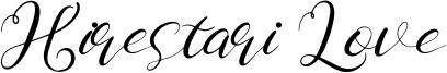 Hirestari Love Font