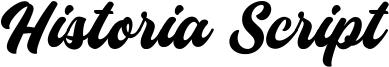 Historia Script Font