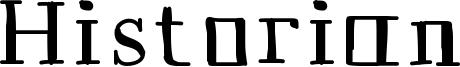 Historian Font