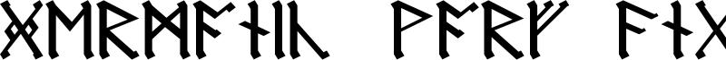 Germanic + Dwarf + AngloSaxon Font
