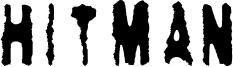 Hitman Font