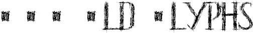 HKH Old Glyphs Font