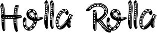 Holla Rolla Font