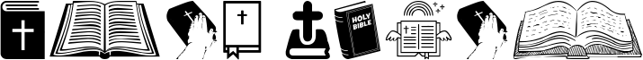 Holy Bible Font