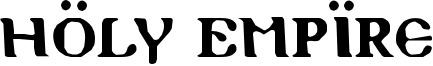 Holy Empire Font