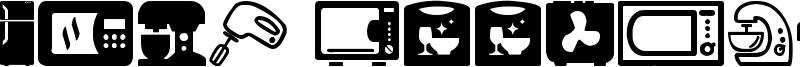 Home Appliances Font