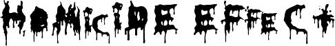 HoMicIDE EFfeCt Font