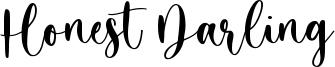 Honest Darling Font