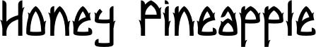 Honey Pineapple Font