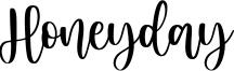 Honeyday Font