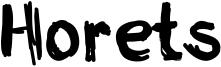 Horets Font