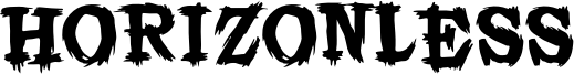 Horizonless Font