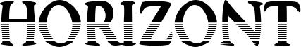 Horizont Font