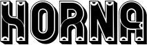 Horna Font