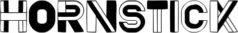 Hornstick Font