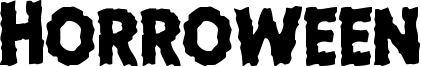 Horroween Font