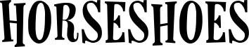Horseshoes Font
