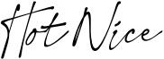 Hot Nice Font