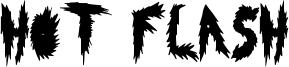 Hot Flash Font