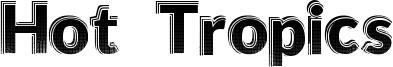 Hot Tropics Font