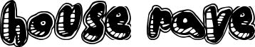 House Rave Font