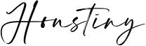 Houstiny Font