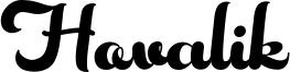 Hovalik Font