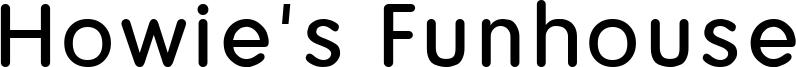 Howie's Funhouse Font