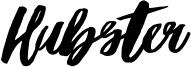 Hubster Font