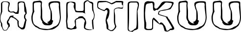 Huhtikuu Font