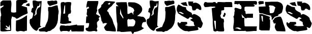 Hulkbusters Font