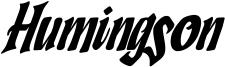 Humingson Font