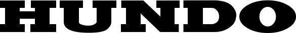 Hundo Font
