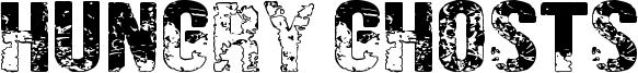 Hungry Ghosts Font