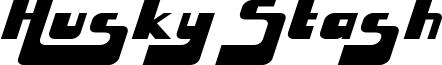 Husky Stash Font