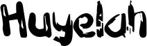 Huyelah Font