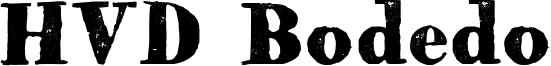 HVD Bodedo Font