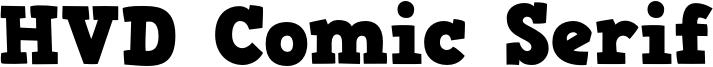 HVD Comic Serif Font