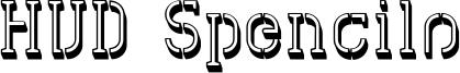HVD Spencils Font
