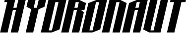 Hydronaut Font