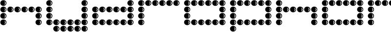 Hydrophonic Font