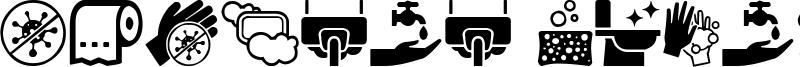 Hygiene Icons Font
