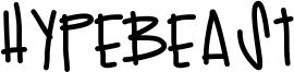 Hypebeast Font