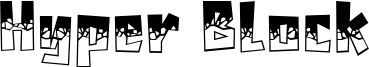 Hyper Block Font