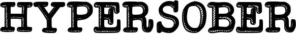 Hypersober Font