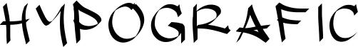 Hypografic Font