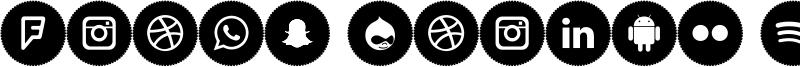 Icons Social Media 4 Font