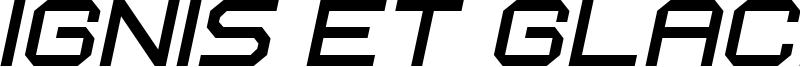 Ignis et Glacies Extra Sharp Italic.ttf