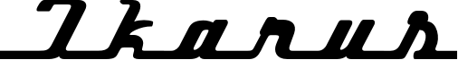Ikarus Font